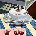Wittenberg Cappucino by Shirley Radebach
