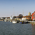 Wivenhoe Waterfront Panorama by Gary Eason