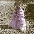 Woman At The Beach by Joana Kruse