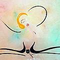 Woman Doing The Line by David Mintz