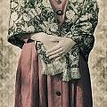 Woman With Shawl by Joana Kruse