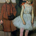 Woman With Two Little Girls by Edgar Degas
