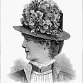 Womans Hat, 1883 by Granger