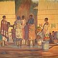 Women At Bolehole by Nisty Wizy