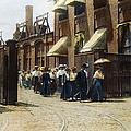 Women Leaving Work, 1895 by Granger