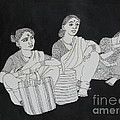 Women Waiting For The Bus by Asha Sudhaker Shenoy