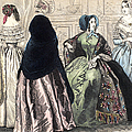 Womens Fashion, C1850 by Granger