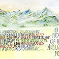 Wonder Splendor II by Judy Dodds