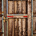 Wood Fence Door by James BO  Insogna