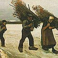 Wood Gatherers In The Snow by Van Gogh