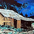 Wood Shed by Mike Holder