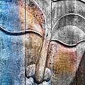 Wooden Buddha by Carol Leigh