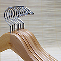 Wooden Clothes Hangers by Skip Nall
