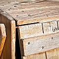 Wooden Crate by Tom Gowanlock