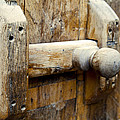 Wooden Door Bolt Detail by Kantilal Patel