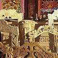 Wooden Furniture Tzintzuntzan Mexico by John  Mitchell
