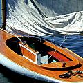 Wooden Sailboat 1 by Gary Adkins