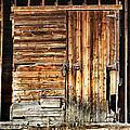 Wooden Slats Barn by Marilyn Hunt
