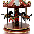 Wooden Toy Carousel by Fabrizio Troiani