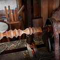 Woodworker - Lathe - Rough Cut by Mike Savad