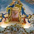 World Heritage Frescoes Of Wieskirche Church In Bavaria by U Schade