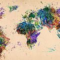 World Map 2 by Mark Ashkenazi