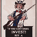 World War I, Poster Showing Uncle Sam by Everett