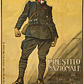 World War I, Poster Shows A Wounded by Everett