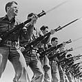 World War II, Bayonet Practice by Everett