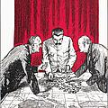 World War II: Cartoon by Granger
