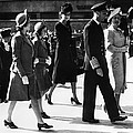 World War II. From Left Future British by Everett