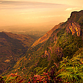 Worlds End. Horton Plains National Park. Sri Lanka by Jenny Rainbow