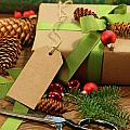 Wrapping Gifts For The Holidays by Sandra Cunningham