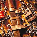 Wrench Tools And Nuts by Garry Gay