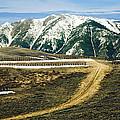 Wyoming Road by Marilyn Hunt