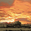Wyoming Sunrise 1 by Lenore Senior