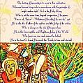 x Judaica Prayer For Rosh Hashanah  by Sandra Silberzweig