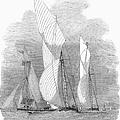 Yacht Race, 1855 by Granger