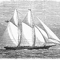Yacht: Sappho, 1868 by Granger