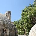 Yahya Mosque In Sebastia by Munir Alawi
