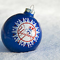 Yankees Ornament by Glenn Gordon