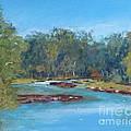 Yarra River Warrandyte by Nadine Kelly