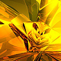 Yellow Abstract by Phil Perkins
