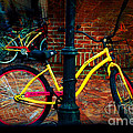 Yellow Bike by Donna Bentley