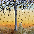 Yellow-blossomed Wishing Tree by Alys Caviness-Gober