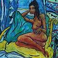Yellow Chair 98 by Bradley Bishko