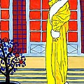 Yellow Coat by Mel Thompson