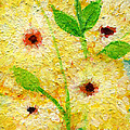 Yellow Flowers Laugh In Joy by Ashleigh Dyan Bayer
