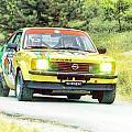 Yellow Opel by Alain De Maximy