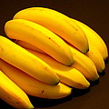 Yellow Ripe Bananas by Jose Lopez